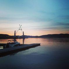 Norway/Telemark ❤ #norway #telemark #porsgrunn #brevik #grenland #natur #nature #vann #water #sjø #perfekt #vær #brygge #båt #himmel #sky #pink #visitnorway #instagram #loveit #trip #fishing #finshinglife