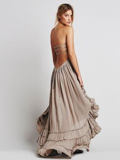 Spring break - will it be warm???  Free People Extratropical Dress, $118.00