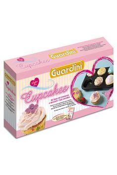 Venda Guardini / 7981 / Cozedura Aço / Conjuntos / Conjunto Cupcakes 60 Recipientes e 9 Acessórios. De 45e por 19e.
