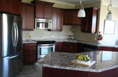 Kitchen Island Alpinus Granite 3cm Polished Kitchens
