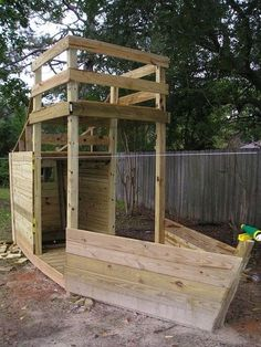 how to build a hobbit hole playhouse plans