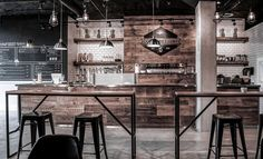 Healthy Lifestyle Bar - In the age of the healthy lifestyle bar, there are plenty of sources of inspiration that translate the earthy nature of the product into a rustic r...