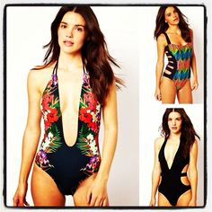 This #summer is all a out the one piece swimsuit.