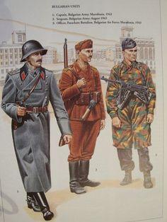 Stukas Over Stalingrad: World War II Uniforms - A-Z Bulgarian uniforms