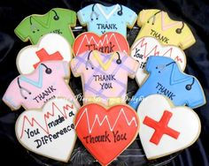 Doctor and Nurse Cookies - LorisPlace