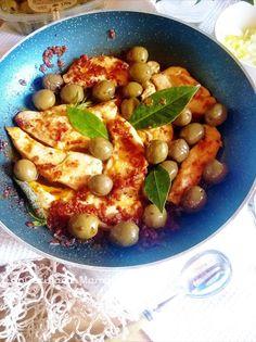 In Cucina con Mamma Agnese: Galletto in padella con Olive e Pomodoro ♫♪♥♥♫♪
