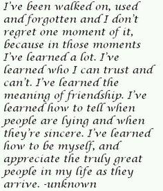 So beyond true