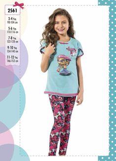 Larice pijama,ev giyim ürünleri,kız çocuk