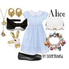 Alice in Wonderland outfit :)