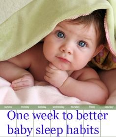 A 7-night plan for getting baby to sleep through the night. Worth a shot...good tips in this blog