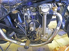 triumph motorcycle engines | photo