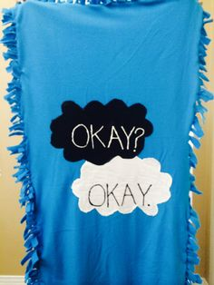DIY the fault in our stars blanket