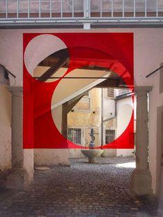 Hallucinatory Street Art - The Optical Illusion Graffiti of Mimmo Rubino Plays Tricks on the Eyes (GALLERY)