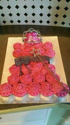 Princess theme cup-cake