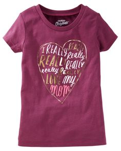 Toddler Girl OshKosh Originals Graphic Tee from OshKosh B'gosh. Shop clothing & accessories from a trusted name in kids, toddlers, and baby clothes.