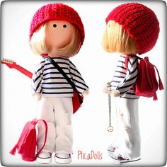 Hippie teen girl by PticaDolls ❤️ Handmade fabric Tilda soft cloth dolls https://www.etsy.com/listing/497940508/hippie-handmade-fabric-tilda-doll