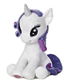 10'' My Little Pony Rarity Seated Plush Toy
