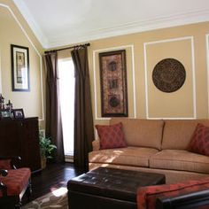 Living room red living rooms and tans on pinterest for Home decor 91304