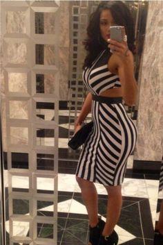 Erica Mena she can get it too lol love her dress