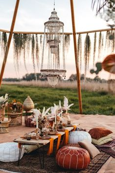 Boho wedding decor chill out area with naked tipi Moroccan Inspired Festival Wedding at Wilderness Wedding Venue Kent. Low table and moroccan poufs. Tipi Wedding, Boho Wedding Decorations, Wedding Venues, Wedding Mandap, Stage Decorations, Moroccan Wedding Theme, Moroccan Theme, Festival Wedding, Festival Style