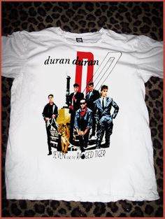 Hey, I found this really awesome Etsy listing at https://www.etsy.com/listing/193570464/duran-duran-t-shirt-vintage-classic-rock