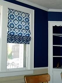 "Savvy Housekeeping » ""Make Your Own Roman Shades"" This site lets you input dimensions and creates a customized pattern for you for three different types of window treatments."