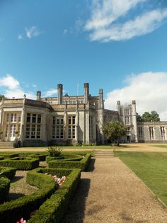 Highcliffe Castle in Dorset, England. Built in 1831 and one time home of Mr Selfridge, of the department store Selfridges in London. By B Lowe