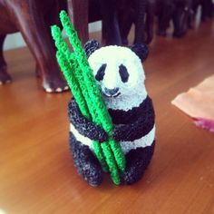 panda for Lina 3d Drawing Pen, 3d Drawings, 3d Doodle Pen, Boli 3d, Stylo 3d, 3d Filament, 3d Prints, Cute Panda, Pen Art