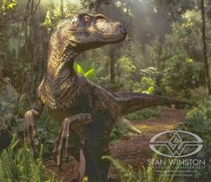 Jurassic Park behind the scenes footage of the puppeteer work. Just amazing! Jurassic Park Raptor, Jurassic Park Trilogy, Jurassic Park 1993, Jurrassic Park, Jurassic World 2015, Prehistoric Creatures, Prehistoric Dinosaurs, The Lost World, The Good Dinosaur