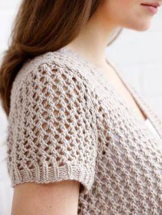 Ajurlu Örgü Hırka Modelleri Anlatımlı - Mimuu.com Crochet Cardigan Pattern, Lace Cardigan, Crochet Patterns, Knitting Stitches, Hand Knitting, Baby Sweaters, Crochet Top, Free Pattern, Clothes