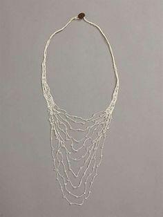 donna karan crochet necklace 400x533 Designer Crochet Project: Donna Karan