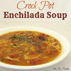 Crock Pot Enchilada Soup