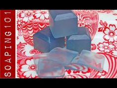How to Make Translucent Soap {clear soap embeds} - YouTube