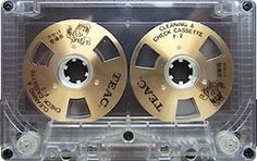 TEAC Cleaning and Check Cassette F-2