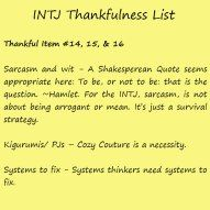 The Thankful INTJ Happy Thanksgiving Femme Dangels. From the staff at Always Uttori, we wish you a warm and safe Thanksgiving holiday. It's hard to believe that Thanksgiving is this Thursday. Intj Women, Intj And Infj, Intj Personality, Extroverted Introvert, Getting To Know You, Mbti, Sarcasm, Thankful, Quotes