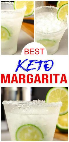 Best Diet Drinks, Low Carb Drinks, Healthy Drinks, Nutrition Drinks, Healthy Foods, Low Carb Margarita Recipe, Happy Hour, Best Fat Burning Foods, After Dinner Drinks