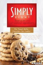 Simple Snack Food: Simply Eight : Peanut Butter Chocolate Chip Cookies