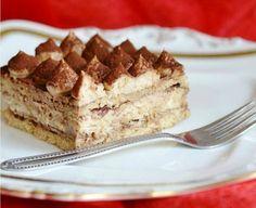 Vynikajúci nepečený zákusok pre milovníkov kávy Sweet Desserts, Tiramisu, Cheesecake, Food And Drink, Ethnic Recipes, Glass, Gardening, Drinks, Drinkware
