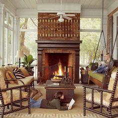 Love this room - so cozy!