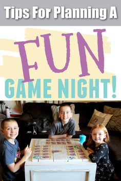 Planning a game night soon? We are sharing our tried and true tips on planning a fun game night with your friends and family! Plan A, How To Plan, Game Night, Fun Games, Giveaway, I Am Awesome, Internet, Create, Friends