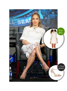 Jennifer Lopez at the Winter TCA Panel - seen in Jimmy Choo and Lover. #jimmychoo #lover  #jenniferlopez @dejamoda