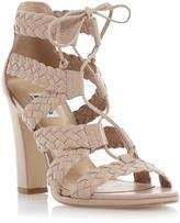 Damen Savannah Fransen Stiefeletten Schnürschuhe Sandalen