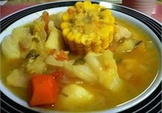 Today we celebrate the Discovery of Puerto Rico. or the day Christopher Columbus landed on the Island of Puerto Rico for the first time in Because if you ask the Taínos who already lived . Panamanian Food, Venezuelan Food, Colombian Sancocho Recipe, Sancocho Colombiano, Fun Cooking, Cooking Recipes, Healthy Recipes, Healthy Food, Gastronomia