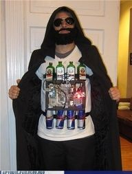 Jager Bomber.. haha. Holloween costume idea..? I think