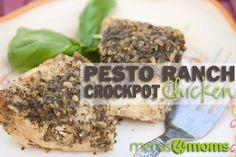 Pesto Ranch Crockpot Chicken Recipe