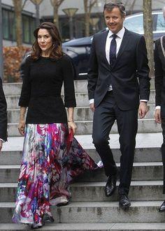 CP Mary & CP Fredrik of Denmark