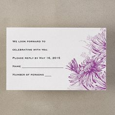 Floral Pattern - Note Card with Envelope - Bright White Engagement Invitation Cards, Party Items, Thank You Notes, Note Cards, Envelope, Monogram, Tapestry, Women's Retreat, Floral