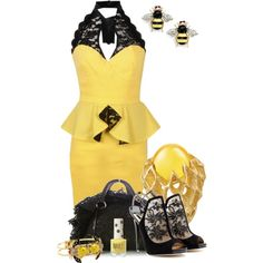 Buzz Buzz, created by kswirsding on Polyvore
