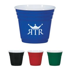 Take the party wherever the night takes you with this 2 oz. mini party cup! You can give away this item with confidence, knowing it's BPA free and meets FDA requirements. With a white interior and four bold exterior color options available, an imprint of your business name, event or logo is sure to generate the attention your brand deserves. From bars to corporate picnics, this miniature promotion will make a statement! Please note: this product is hand was recommended.