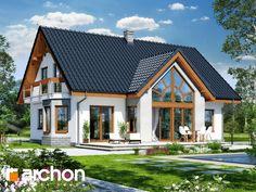 projekt Dom w melisie widok 1